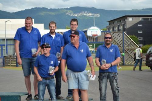 Championnat Suisse triplette 2016